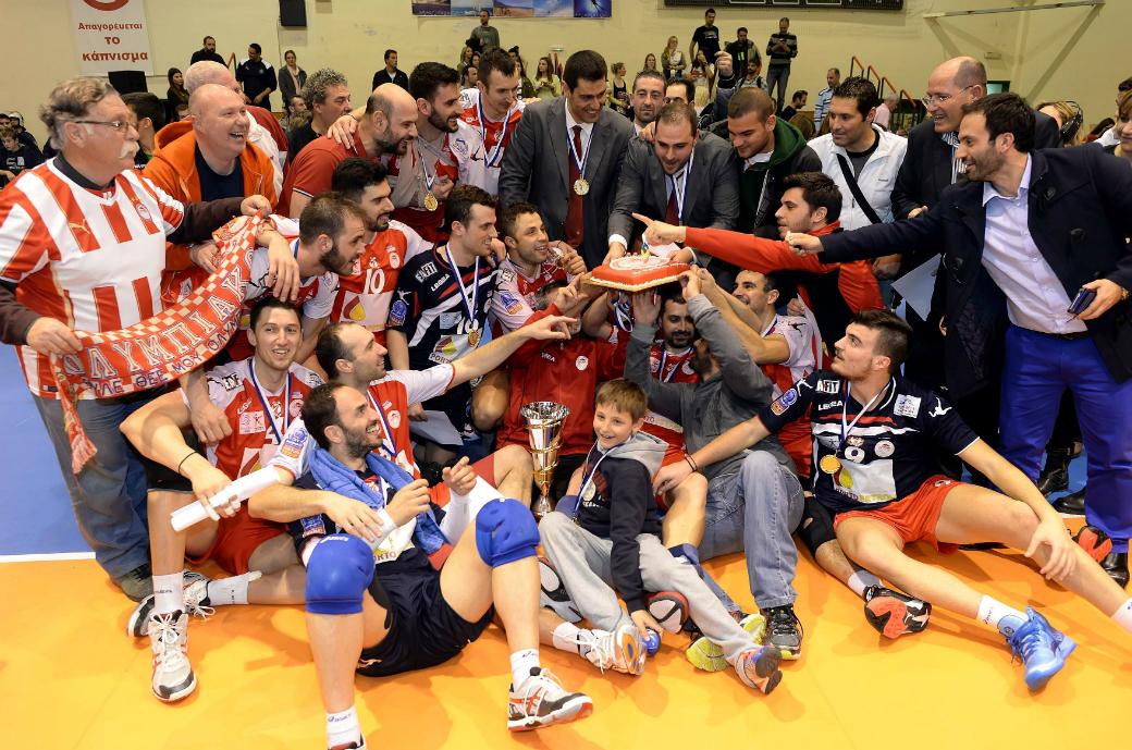 Ολυμπιακός Κυπελλούχος Ελλάδας 2013-14