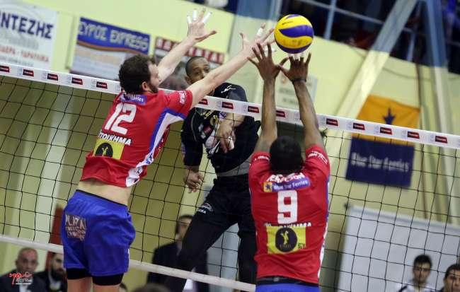 «Αέρας» ο ΠΑΟΚ στην Σύρο, θρίαμβος 0-3 στον πρώτο τελικό!