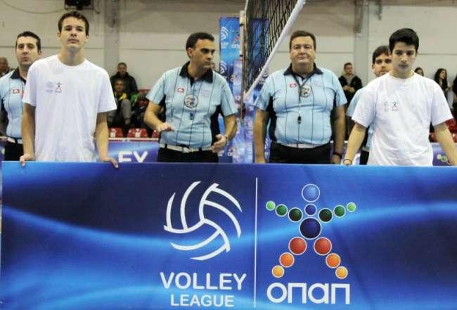 Το πρόγραμμα και οι διαιτητές της 5ης αγωνιστικής της Volley League «Πάμε Στοίχημα»