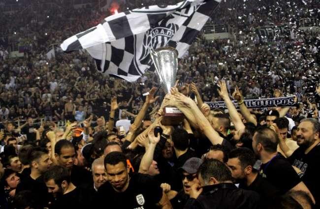 Πρωταθλητής ο ΠΑΟΚ για πρώτη φορά στην ιστορία του