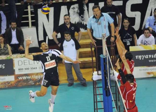 ΠΑΟΚ - Ολυμπιακός (3ος τελικός, 29/4, 19.00, Novasports 3)