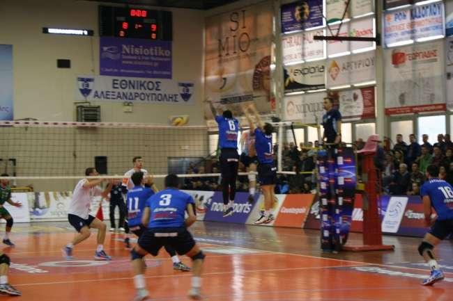 Η Κηφισιά 3-0 τον Εθνικό στην Αλεξανδρούπολης και εξασφάλισε την 4αδα