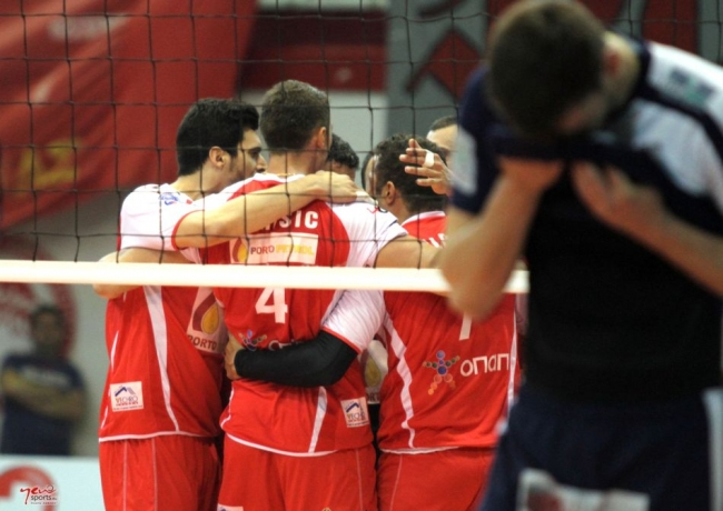 Πρώτο βήμα τίτλου ο Ολυμπιακός 3-2 τον Εθνικό Αλεξανδρούπολης