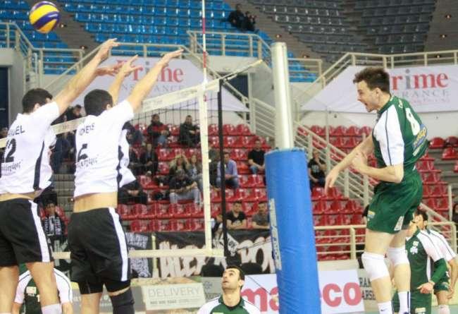 ΠΑΟΚ - Παναθηναϊκός (1ος ημιτελικός, 7/4, 19.30, Novasports-3)