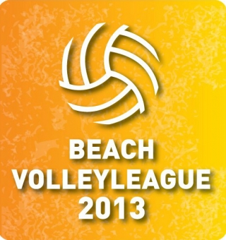 To logo του 1oυ Beachvolley League