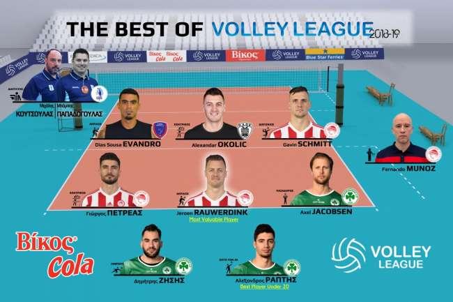 Η καλύτερη ομάδα της Volley League 2018-19
