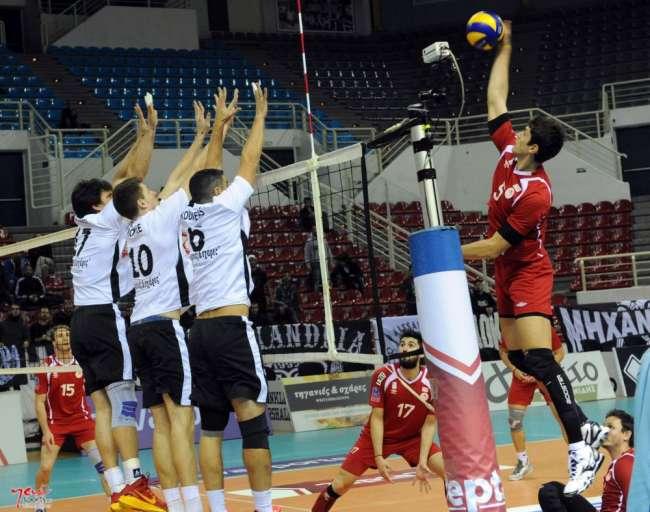 ΠΑΟΚ - Ολυμπιακός (1ος τελικός, 23/4, 20.00, Novasports 3)
