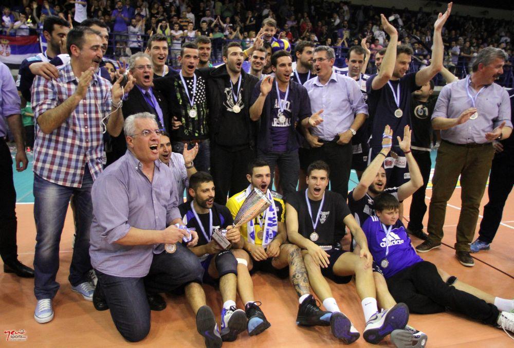Εθνικός Αλεξανδρούπολης 2η θέση 2013-14