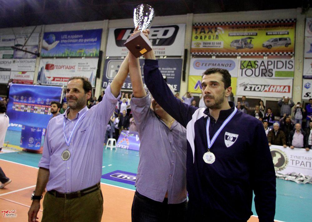 Τελευταίος αγώνας Γρηγόρη Σιδηρόπουλου - Τελευταίος τελικός (03/05/2014)